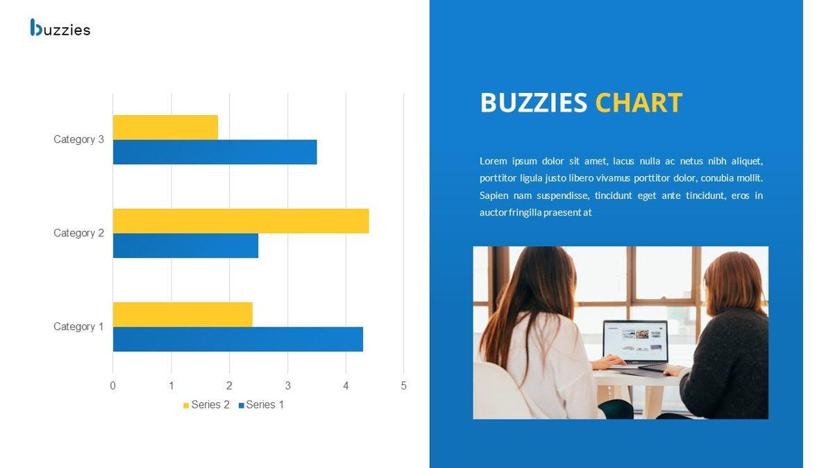 Buzzeies - Business presentation Template, Slide 30, 06679, Presentation Templates — PoweredTemplate.com
