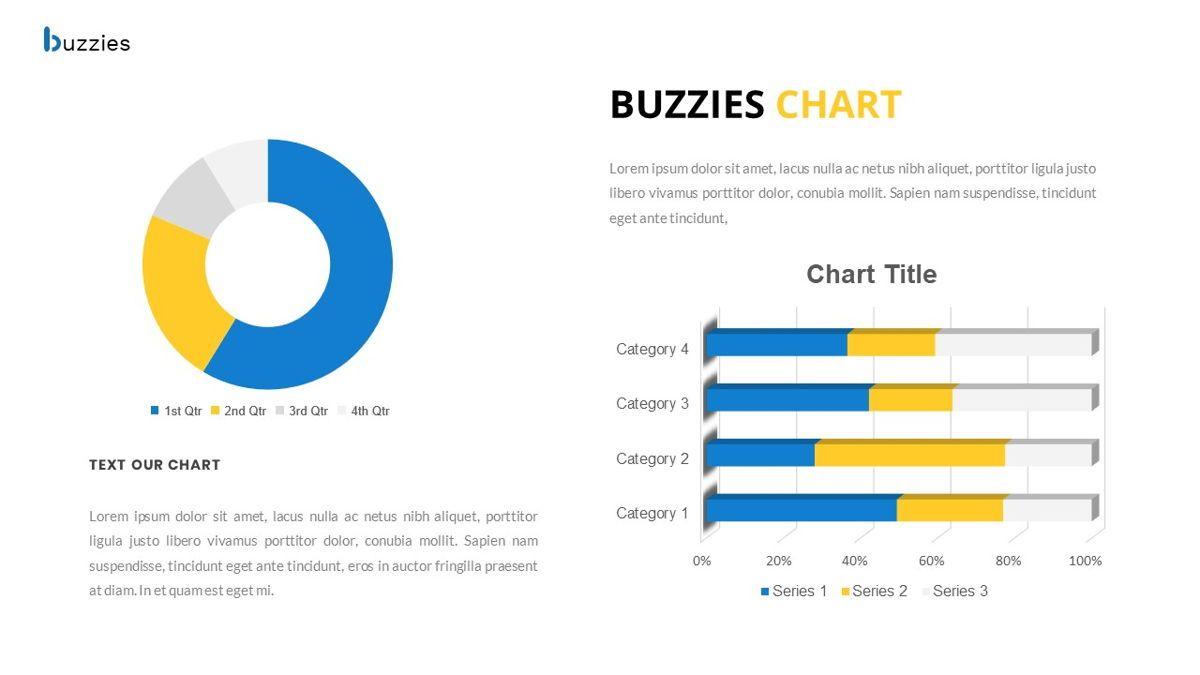 Buzzeies - Business presentation Template, Slide 31, 06679, Presentation Templates — PoweredTemplate.com