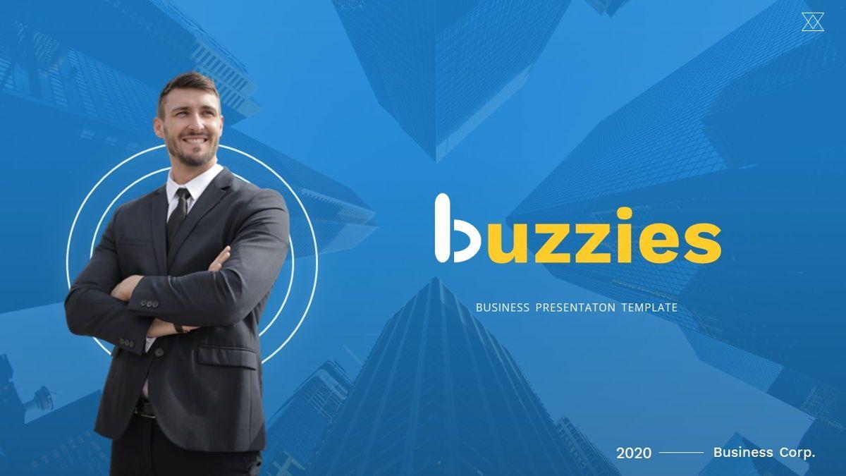 Buzzeies - Business presentation Template, Slide 38, 06679, Presentation Templates — PoweredTemplate.com