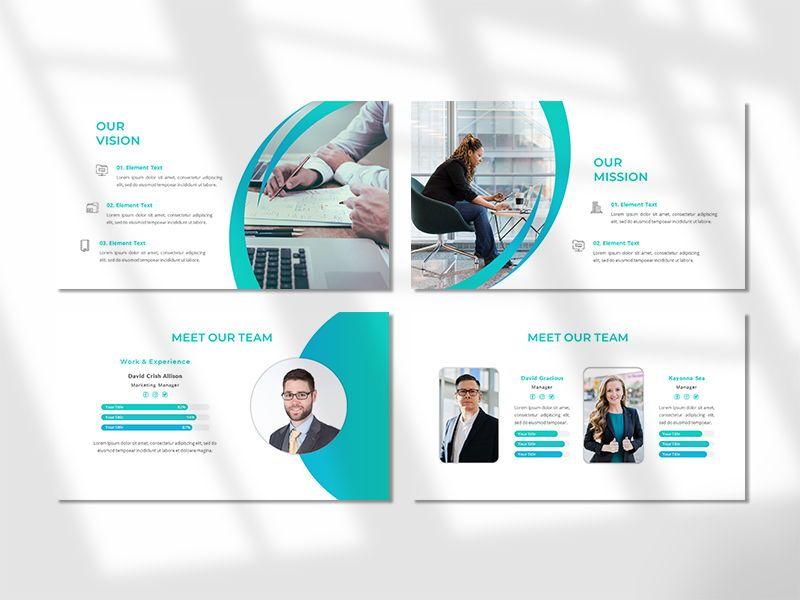 CREAVITY - Creative Business PowerPoint Template, Slide 3, 06680, Presentation Templates — PoweredTemplate.com