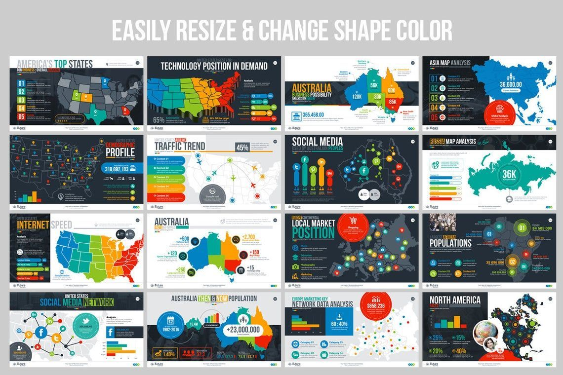 The Future of Business PowerPoint Template, Slide 10, 06682, Infographics — PoweredTemplate.com