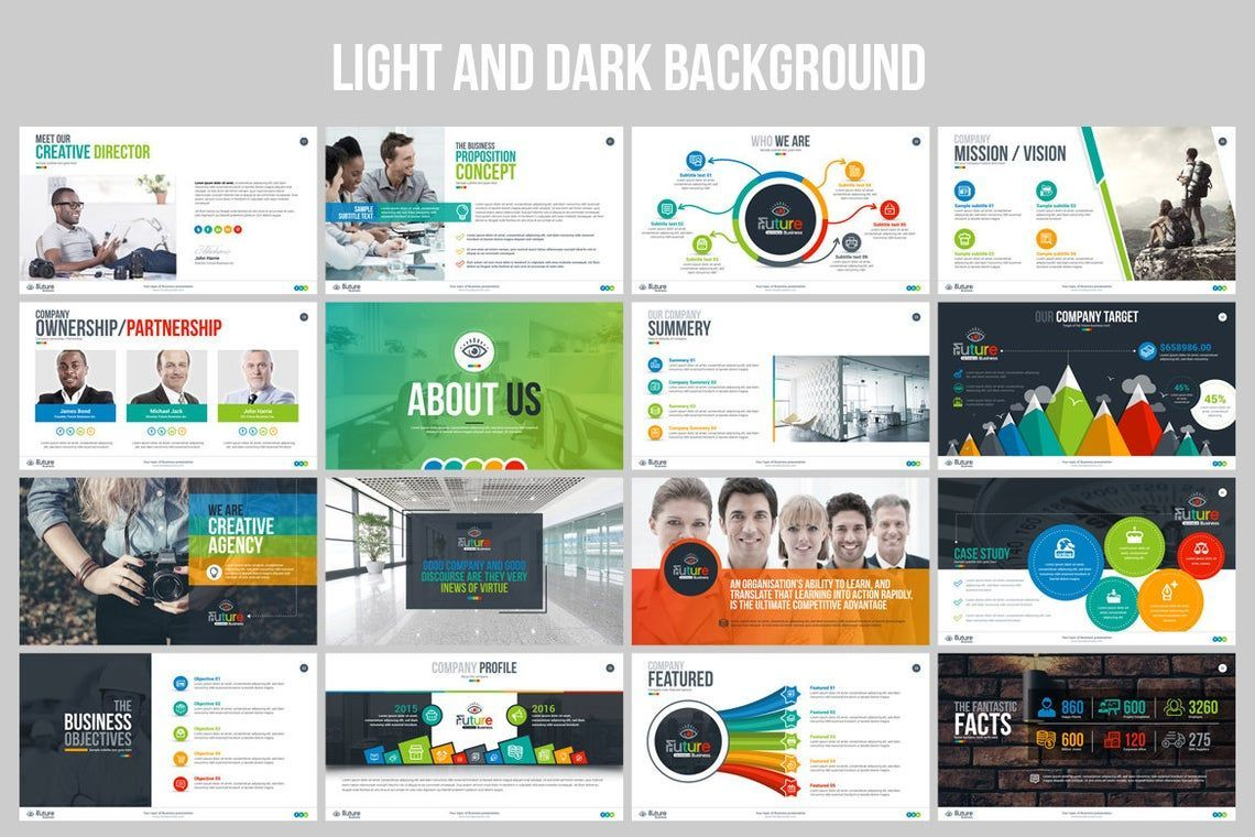 The Future of Business PowerPoint Template, Slide 3, 06682, Infographics — PoweredTemplate.com
