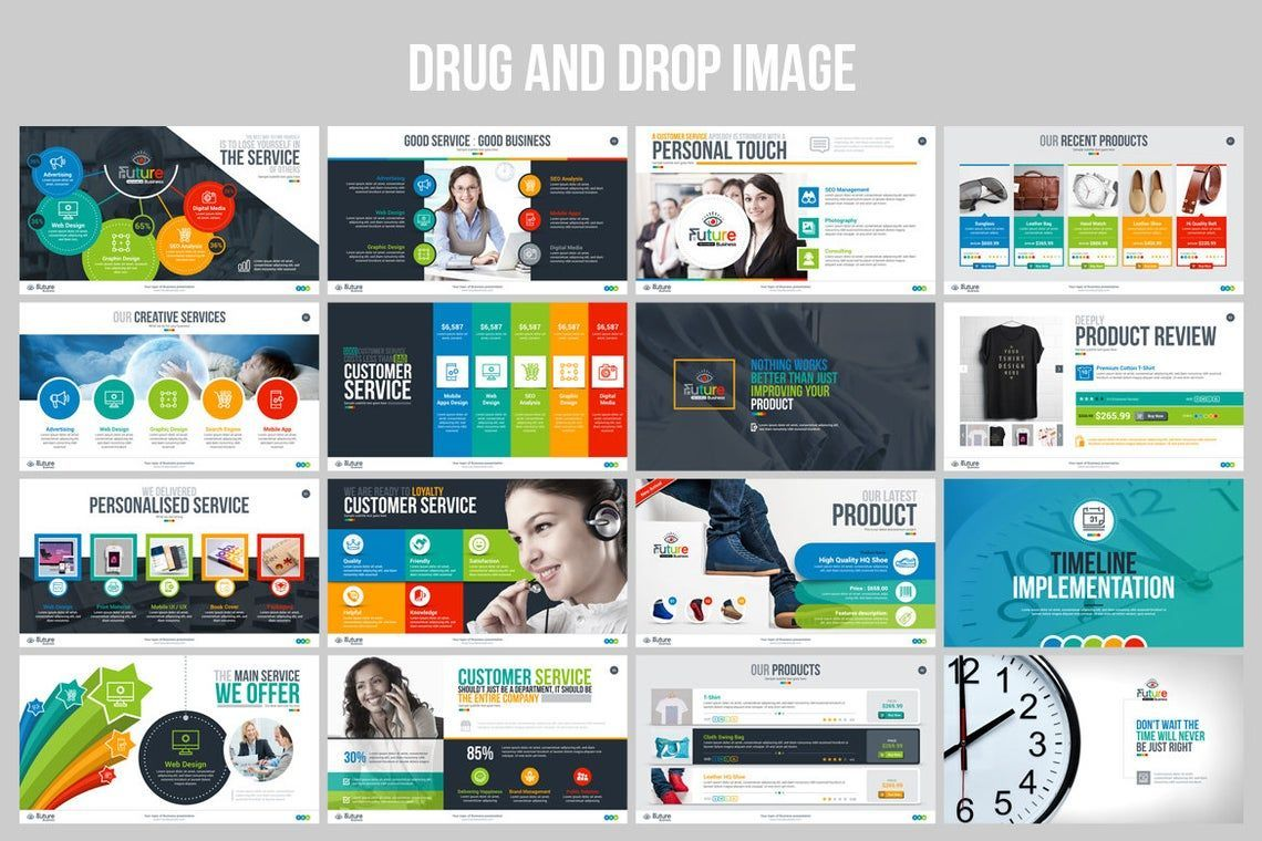 The Future of Business PowerPoint Template, Slide 5, 06682, Infographics — PoweredTemplate.com