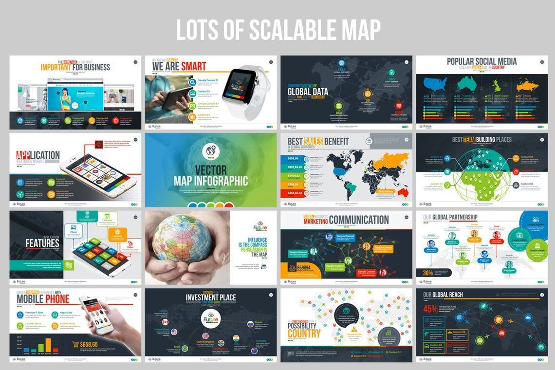 The Future of Business PowerPoint Template, Slide 9, 06682, Infographics — PoweredTemplate.com