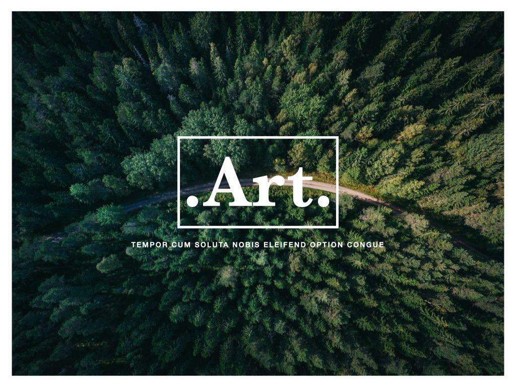 Art Solid Google Slides Presentation Template, Slide 12, 06684, Presentation Templates — PoweredTemplate.com