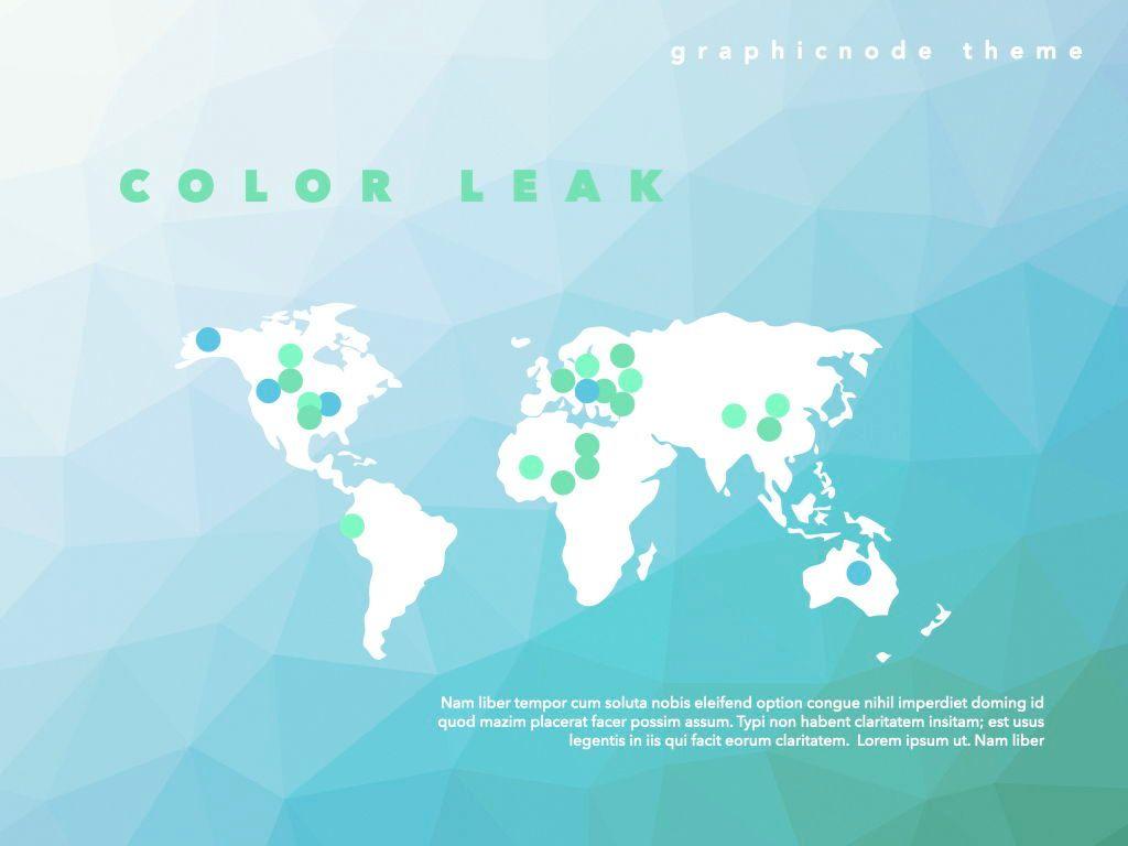 Color Leak Google Slides Presentation Template, Slide 11, 06687, Presentation Templates — PoweredTemplate.com