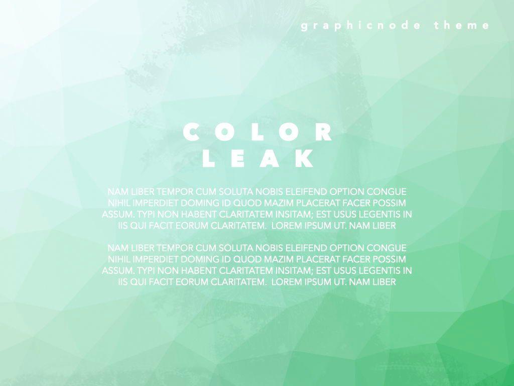 Color Leak Google Slides Presentation Template, Slide 13, 06687, Presentation Templates — PoweredTemplate.com