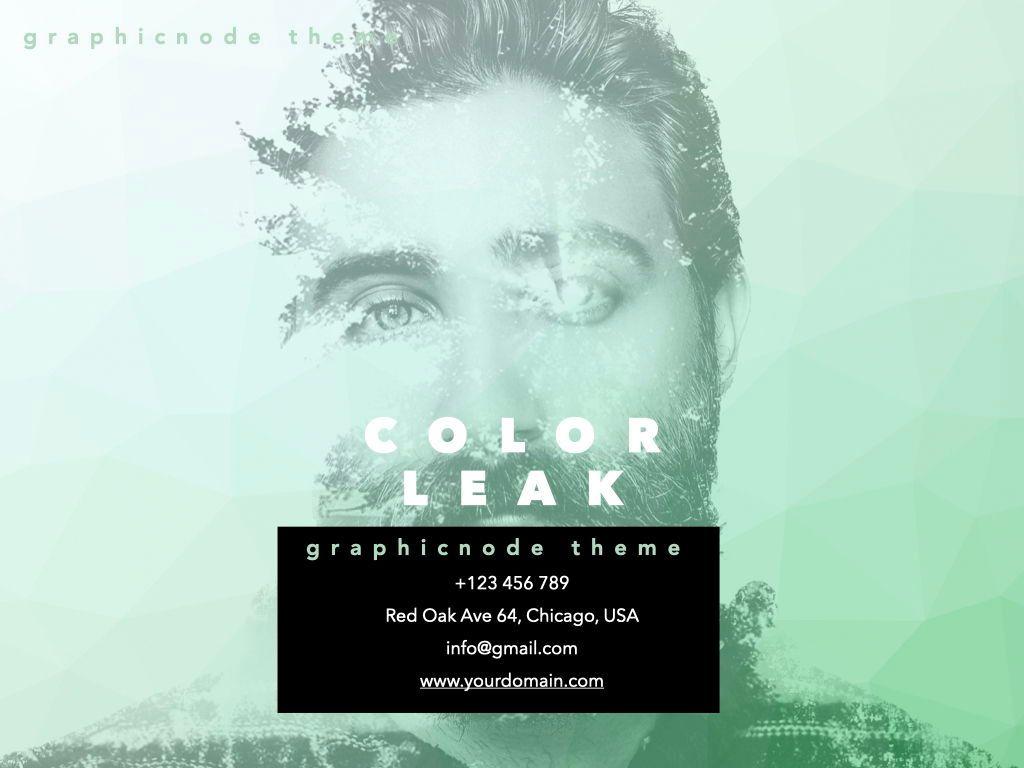 Color Leak Google Slides Presentation Template, Slide 14, 06687, Presentation Templates — PoweredTemplate.com