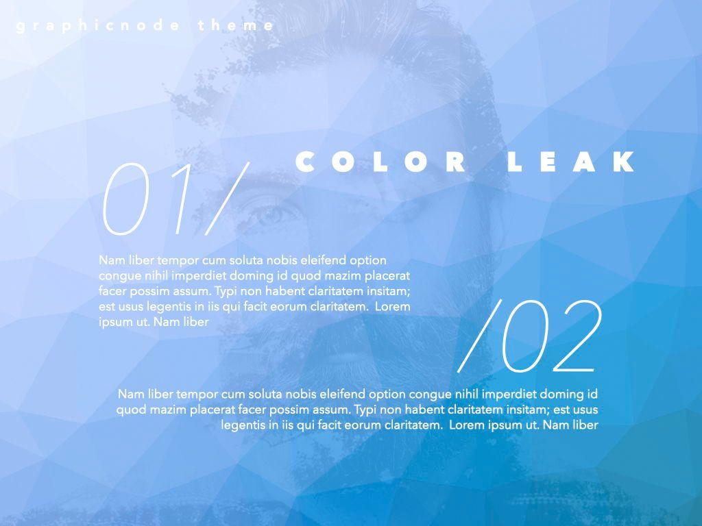 Color Leak Google Slides Presentation Template, Slide 16, 06687, Presentation Templates — PoweredTemplate.com