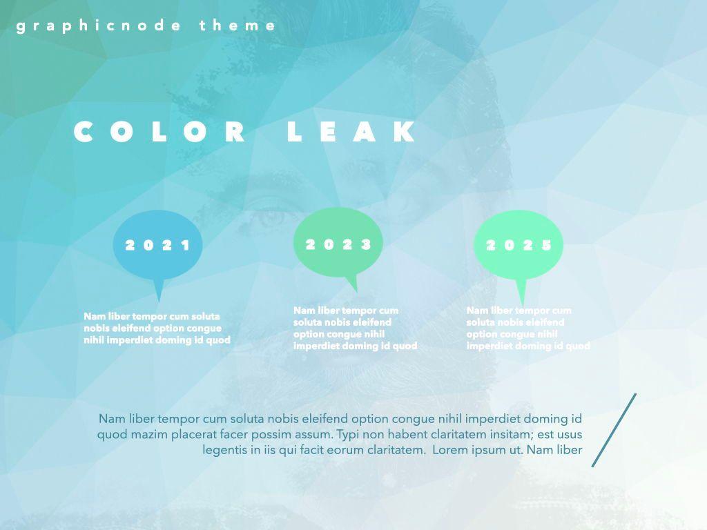 Color Leak Google Slides Presentation Template, Slide 17, 06687, Presentation Templates — PoweredTemplate.com
