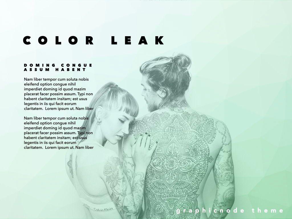 Color Leak Google Slides Presentation Template, Slide 18, 06687, Presentation Templates — PoweredTemplate.com