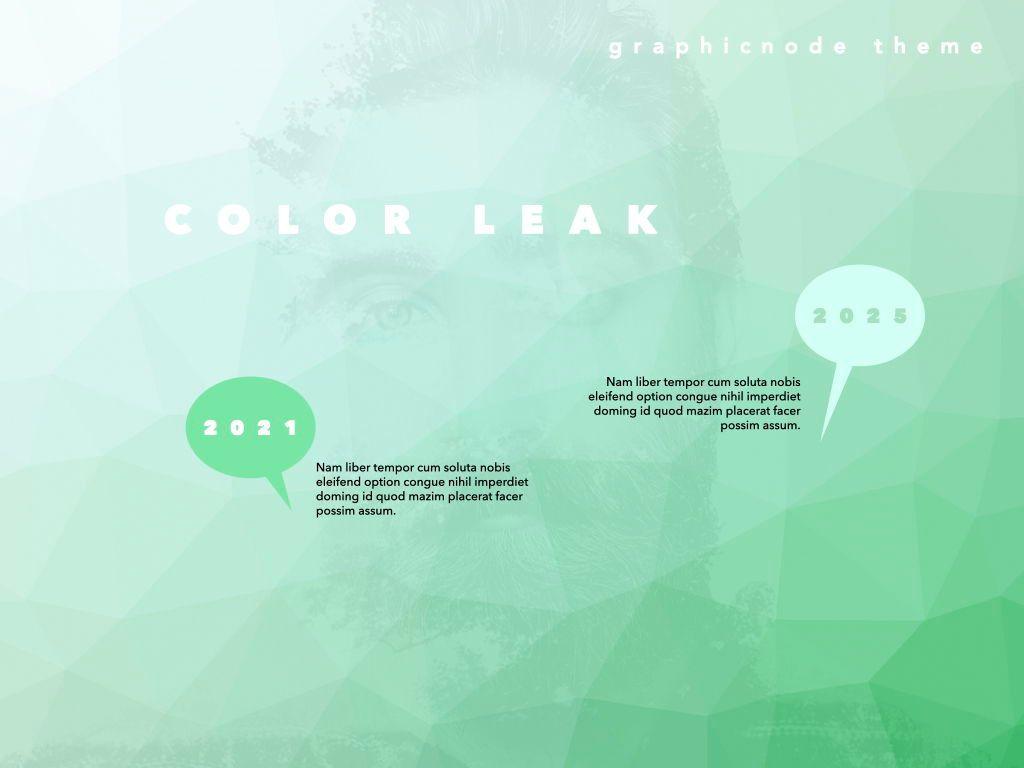 Color Leak Google Slides Presentation Template, Slide 3, 06687, Presentation Templates — PoweredTemplate.com