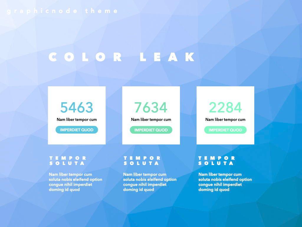Color Leak Google Slides Presentation Template, Slide 4, 06687, Presentation Templates — PoweredTemplate.com