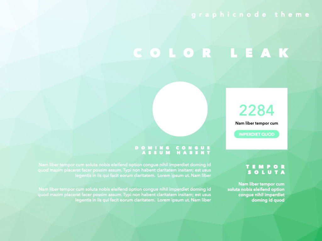 Color Leak Google Slides Presentation Template, Slide 7, 06687, Presentation Templates — PoweredTemplate.com