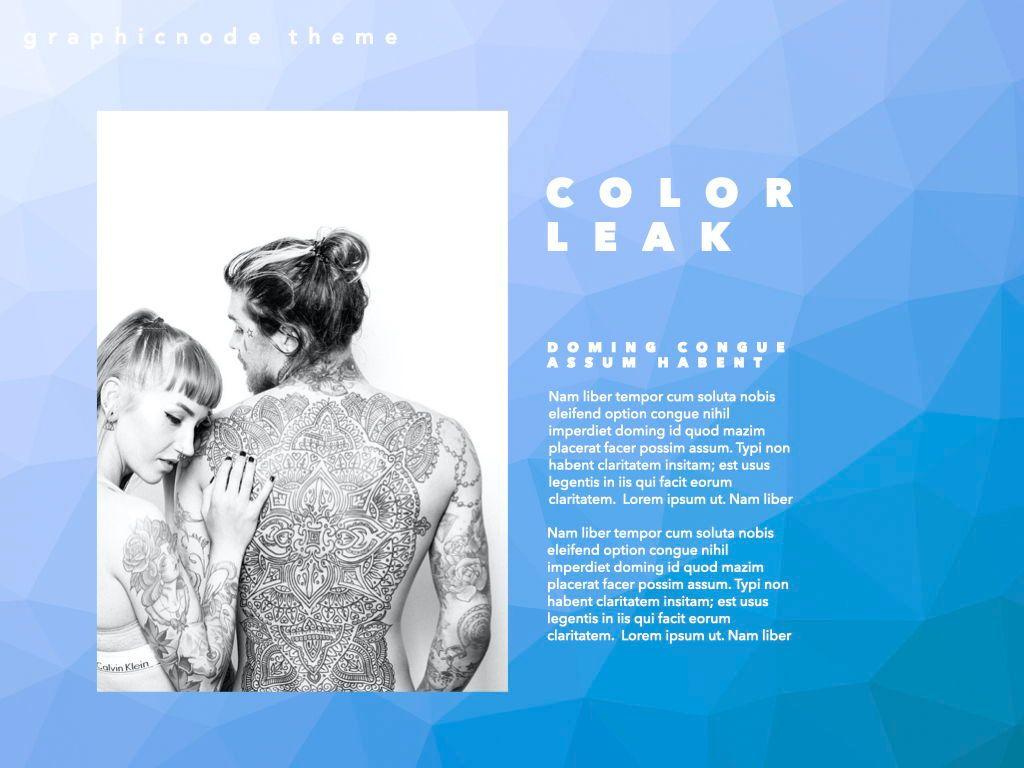 Color Leak Google Slides Presentation Template, Slide 8, 06687, Presentation Templates — PoweredTemplate.com