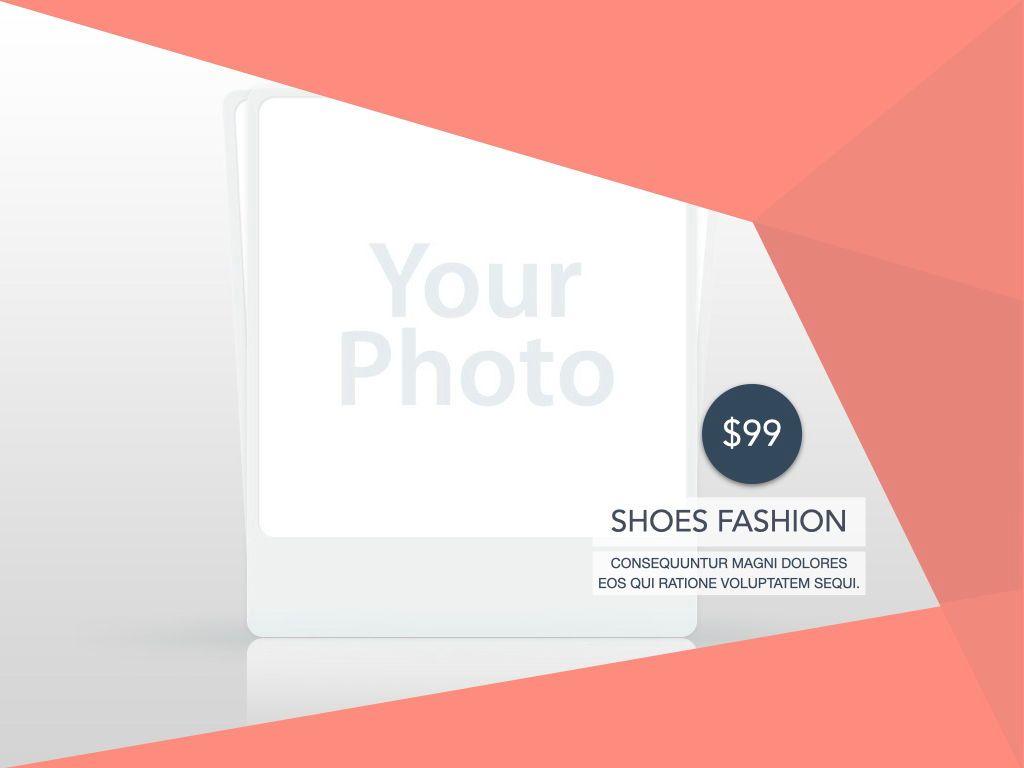 Coral Shapes Google Slides Presentation Template, Slide 15, 06689, Presentation Templates — PoweredTemplate.com