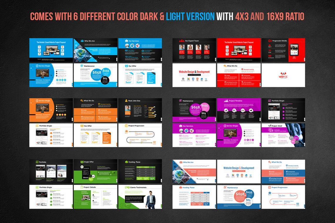 Web Design and Development - Project Proposal PowerPoint Template, Slide 5, 06694, Presentation Templates — PoweredTemplate.com
