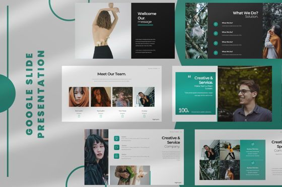 Presentation Templates: Nguphai Business Google Slide #06698
