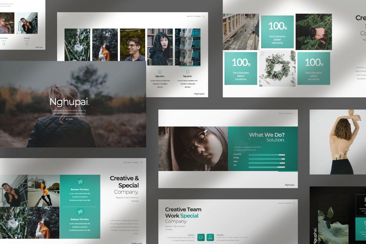 Nguphai Business Google Slide, Slide 10, 06698, Presentation Templates — PoweredTemplate.com