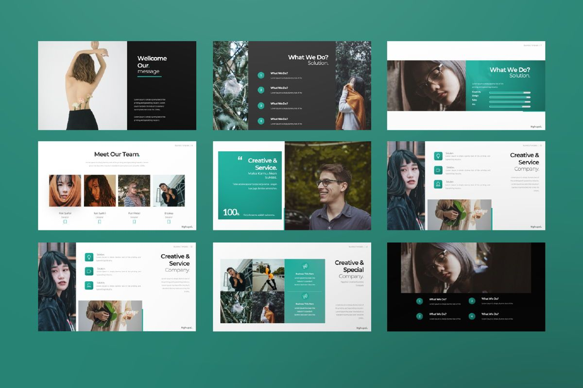 Nguphai Business Google Slide, Slide 2, 06698, Presentation Templates — PoweredTemplate.com