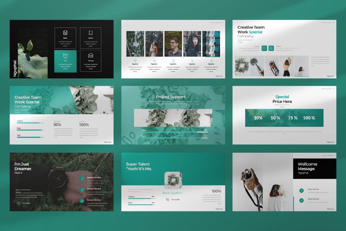 Nguphai Business Google Slide, Slide 3, 06698, Presentation Templates — PoweredTemplate.com