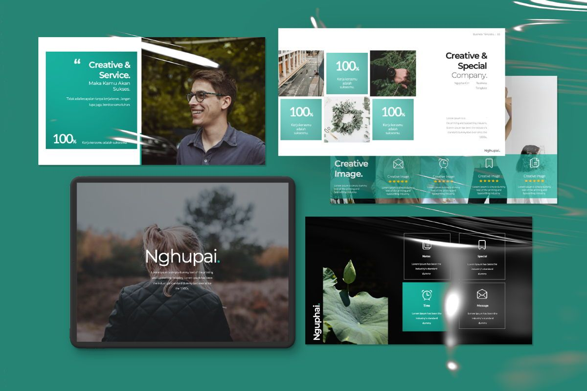 Nguphai Business Keynote, Slide 11, 06699, Presentation Templates — PoweredTemplate.com