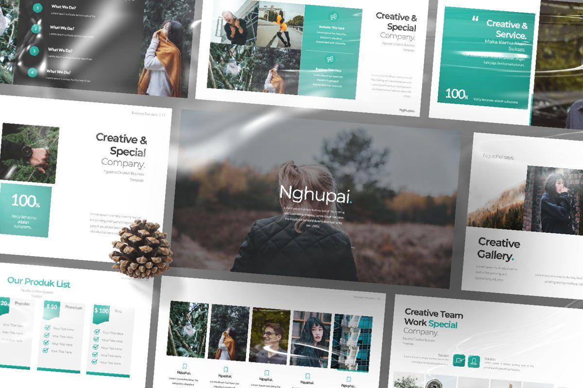Nguphai Business Keynote, Slide 12, 06699, Presentation Templates — PoweredTemplate.com
