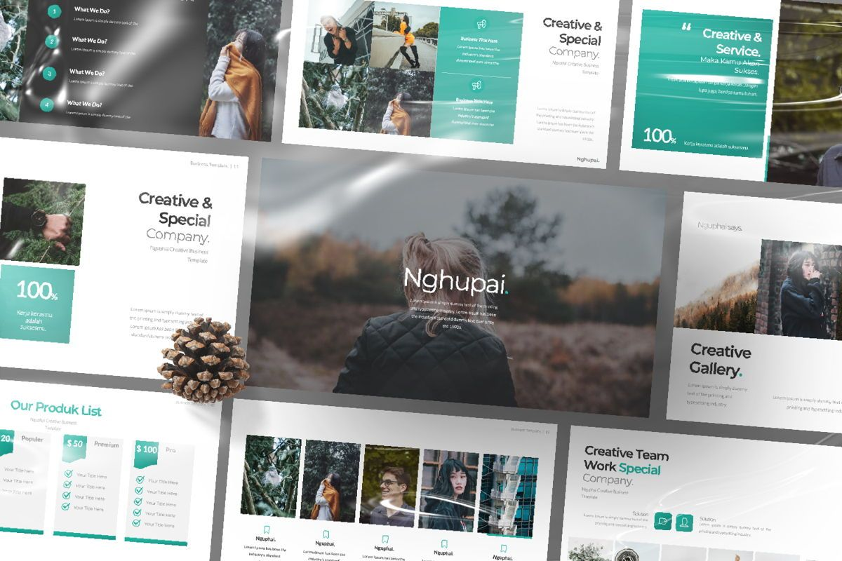 Nguphai Business Powerpoint, Slide 12, 06700, Presentation Templates — PoweredTemplate.com
