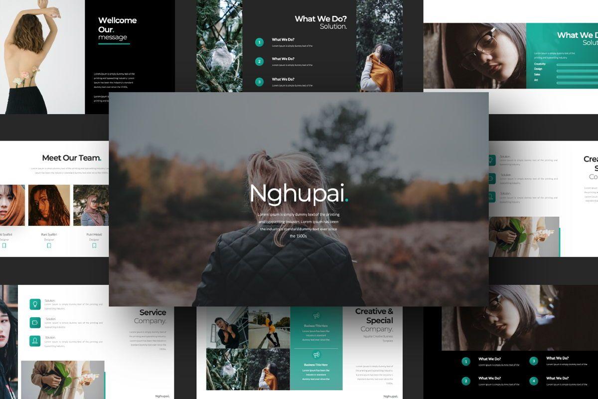 Nguphai Business Powerpoint, Slide 13, 06700, Presentation Templates — PoweredTemplate.com