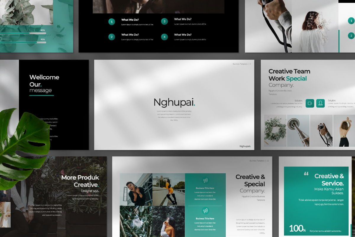 Nguphai Business Powerpoint Presentation Template 75128
