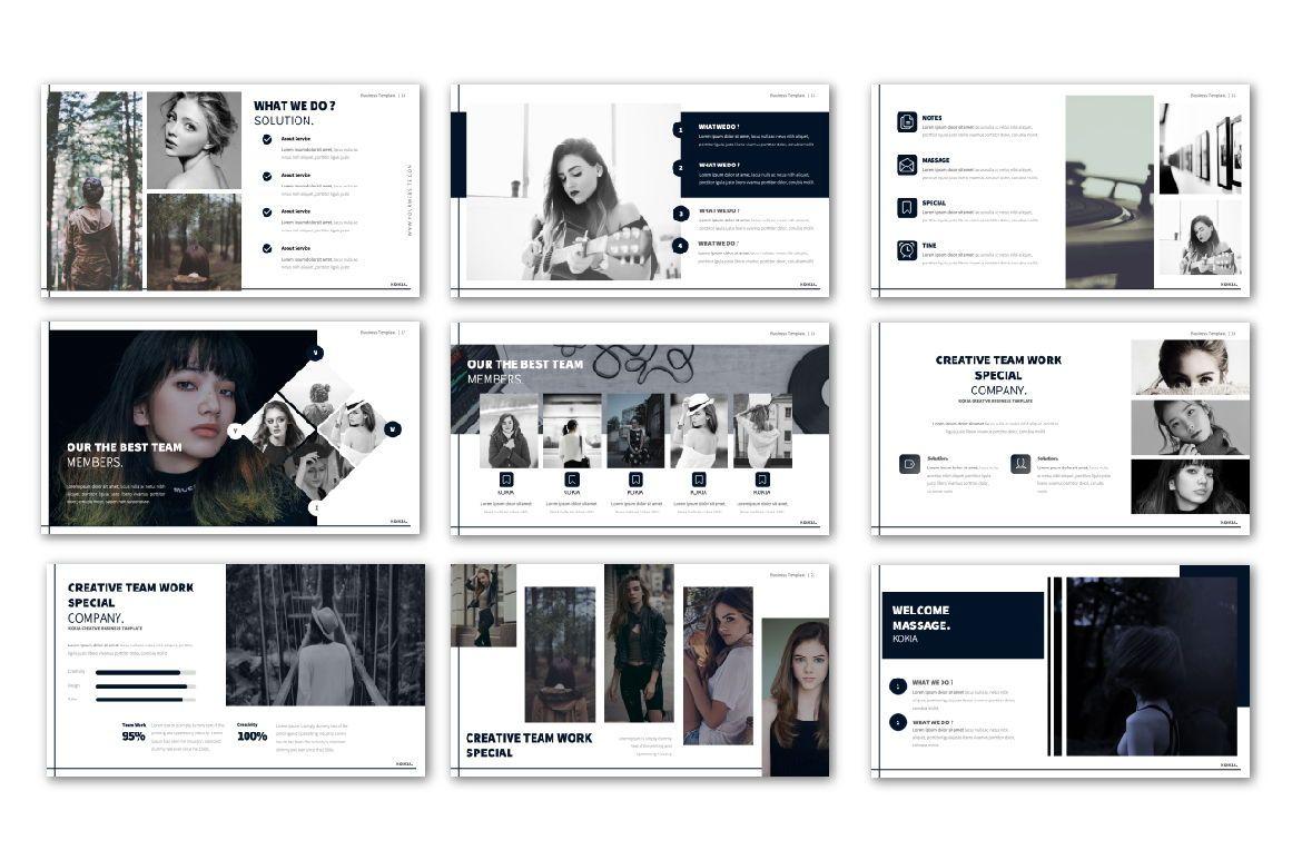 Kokia Business Powerpoint, Slide 2, 06704, Presentation Templates — PoweredTemplate.com