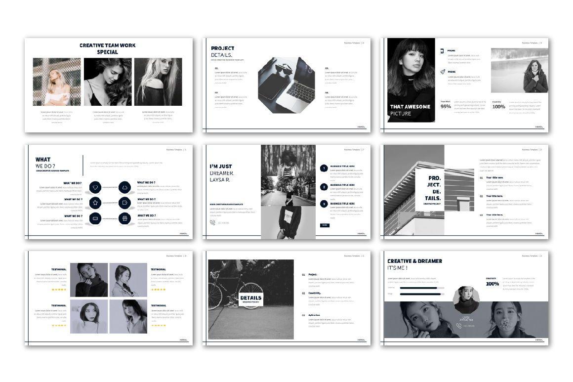 Kokia Business Powerpoint, Slide 4, 06704, Presentation Templates — PoweredTemplate.com