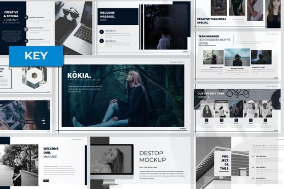 Presentation Templates: Kokia Business Keynote #06705