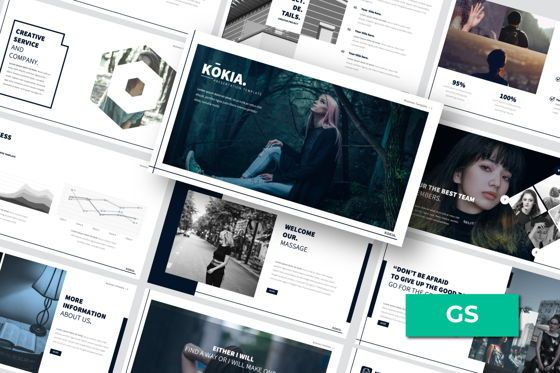 Presentation Templates: Kokia Business Google Slide #06706