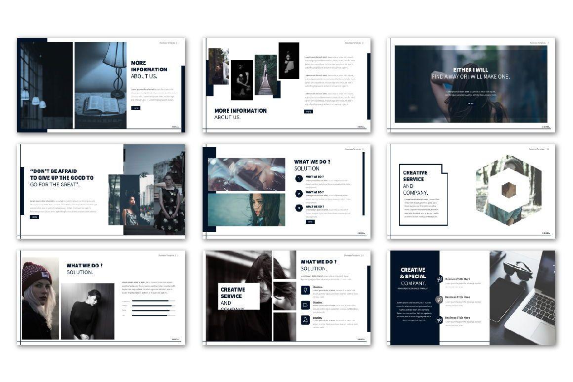 Kokia Business Google Slide, Slide 3, 06706, Presentation Templates — PoweredTemplate.com