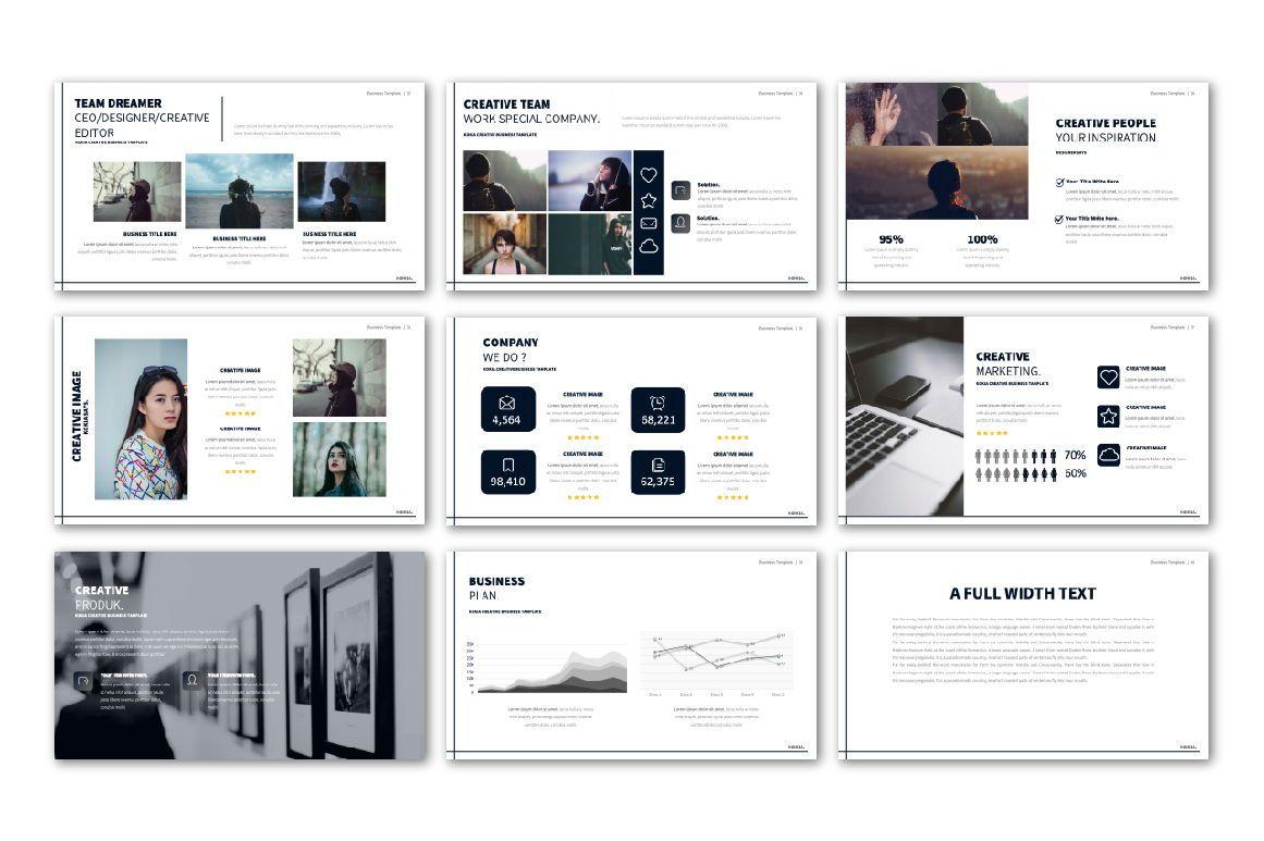 Kokia Business Google Slide, Slide 5, 06706, Presentation Templates — PoweredTemplate.com