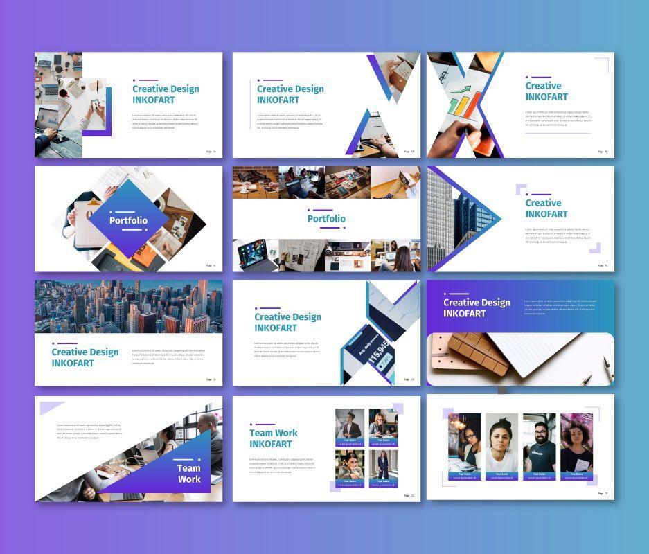 Inkofart - Business Google Slide Template, Slide 3, 06708, Business Models — PoweredTemplate.com