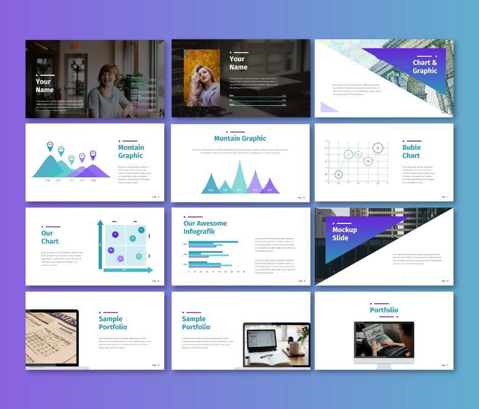 Inkofart - Business Google Slide Template, Slide 4, 06708, Business Models — PoweredTemplate.com