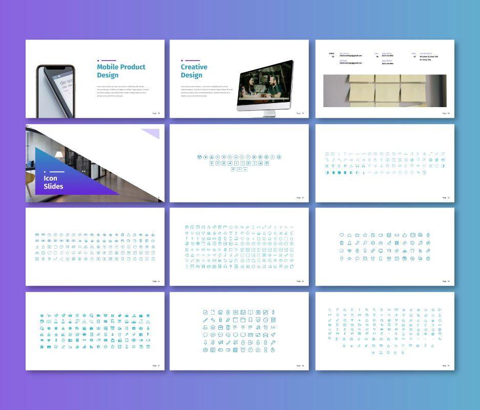 Inkofart - Business Google Slide Template, Slide 5, 06708, Business Models — PoweredTemplate.com