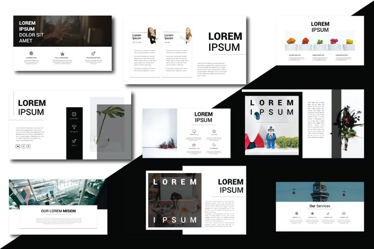 Lorem Ipsum Business Keynote, Slide 4, 06711, Presentation Templates — PoweredTemplate.com
