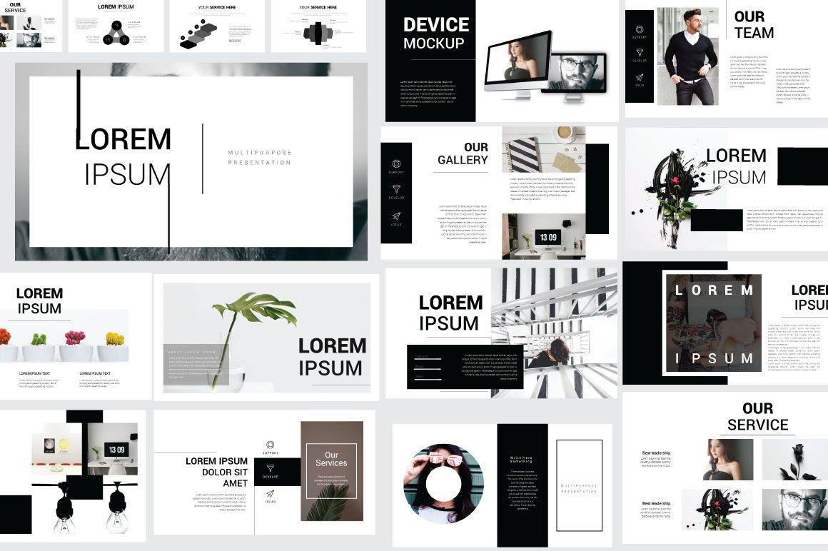 Lorem Ipsum Business Google Slide, Slide 2, 06712, Presentation Templates — PoweredTemplate.com