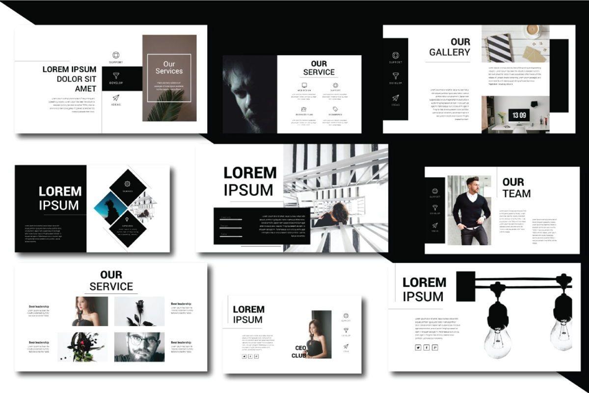 Lorem Ipsum Business Google Slide, Slide 3, 06712, Presentation Templates — PoweredTemplate.com