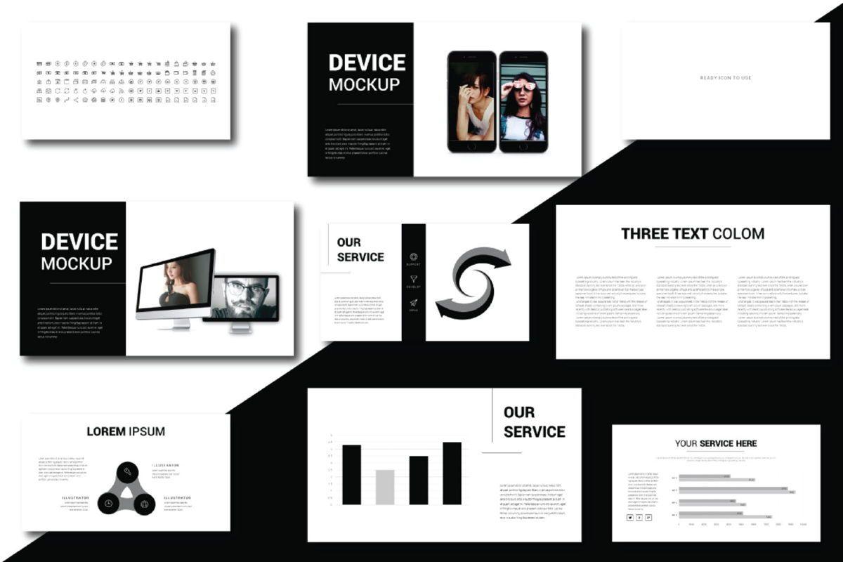 Lorem Ipsum Business Google Slide, Slide 5, 06712, Presentation Templates — PoweredTemplate.com