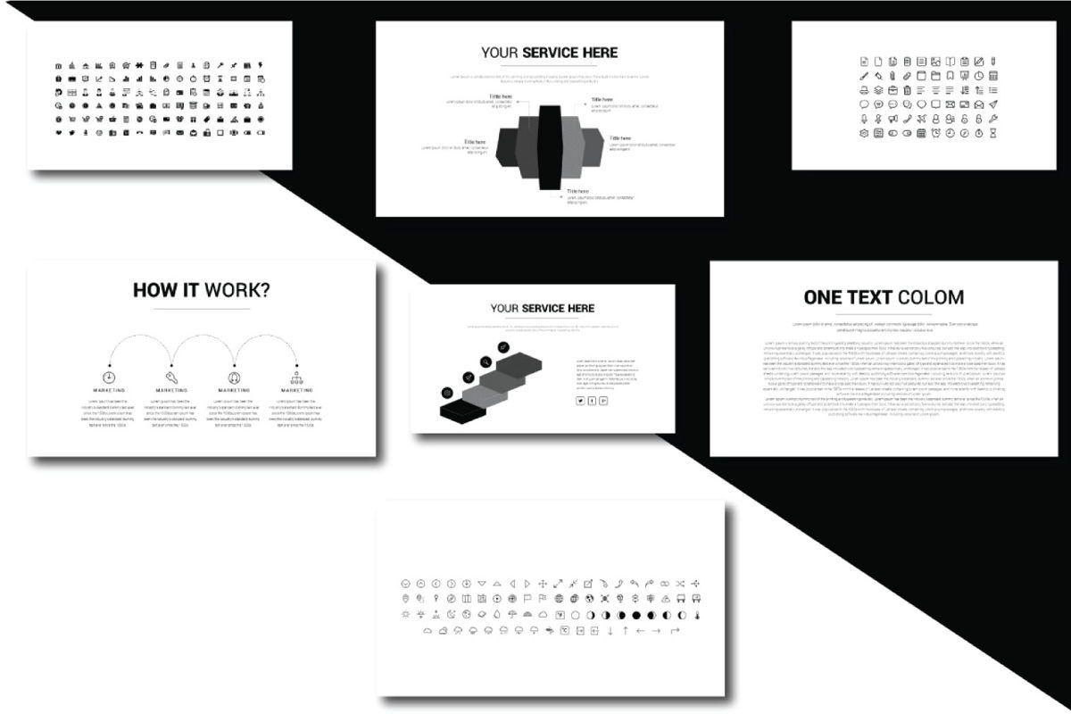 Lorem Ipsum Business Google Slide, Slide 8, 06712, Presentation Templates — PoweredTemplate.com