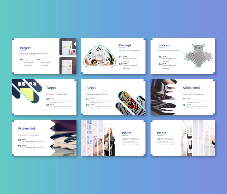 Clean – Business Powerpoint Template, Slide 4, 06713, Business Models — PoweredTemplate.com