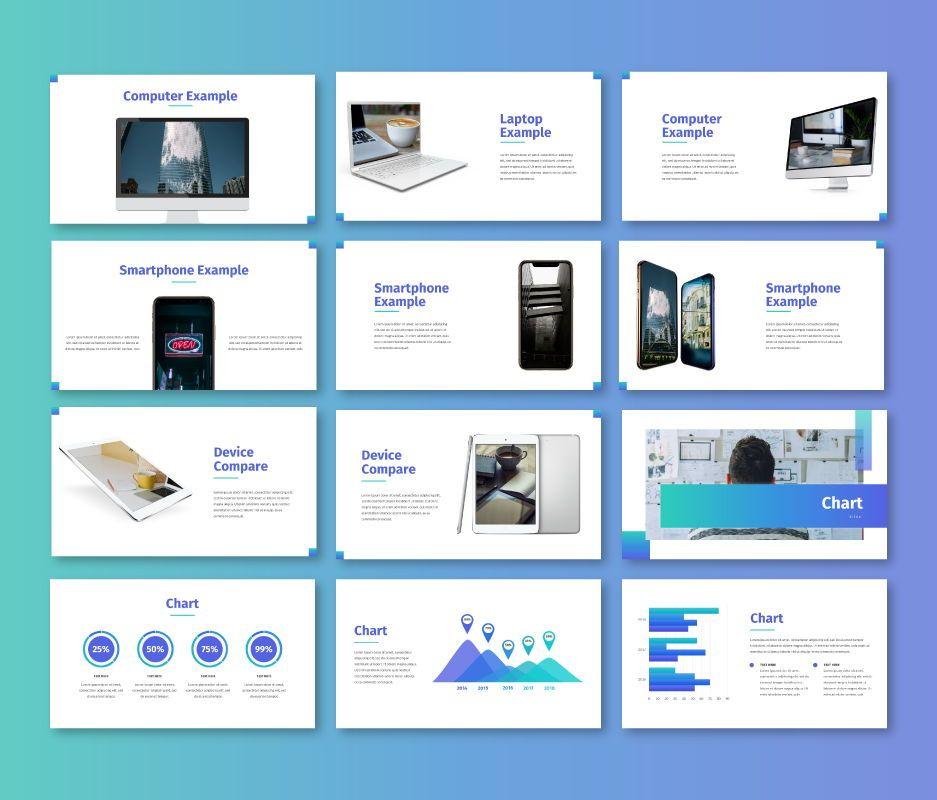 Clean – Business Powerpoint Template, Slide 8, 06713, Business Models — PoweredTemplate.com