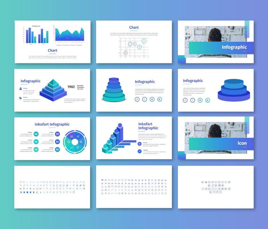 Clean – Business Powerpoint Template, Slide 9, 06713, Business Models — PoweredTemplate.com