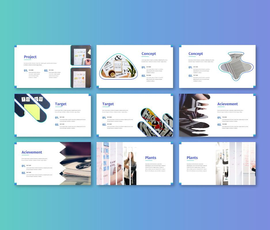 Clean – Business Google Slides Template, Slide 4, 06714, Business Models — PoweredTemplate.com