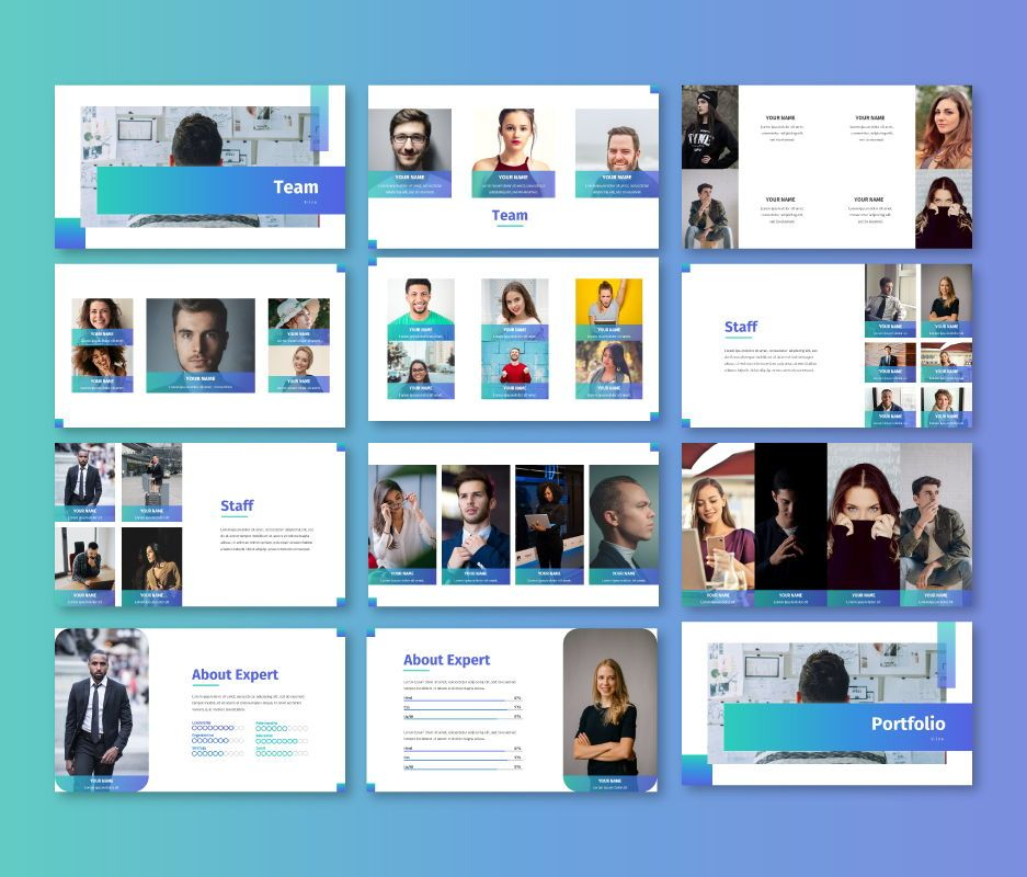 Clean – Business Google Slides Template, Slide 5, 06714, Business Models — PoweredTemplate.com