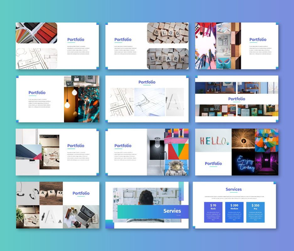 Clean – Business Google Slides Template, Slide 6, 06714, Business Models — PoweredTemplate.com